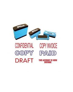 Stakz 3 in 1 OFFICE STAMP - clean and compact with a choice of wording available