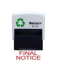 FINAL NOTICE Self Inking 36 x 13mm