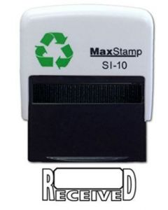 'RECEIVED' Self Inking Stamp - 36 x 13mm - Handy Pocket Stamp