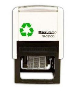 Max 3255/D Custom Dater Stamp - 50mm x 30mm Self Inking