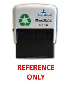 'REFERENCE ONLY' Self Inking Stamp - 36 x 13mm - Handy Pocket Stamp