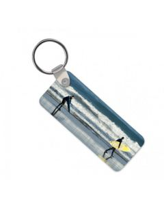 PERSONALISED RECTANGULAR KEYRING