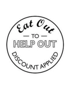 EAT OUT TO HELP OUT DISCOUNT SELF INKING