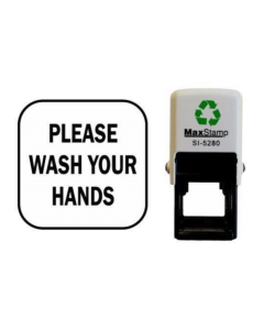 PLEASE WASH YOUR HANDS SELF INKING (SQUARE) - 2